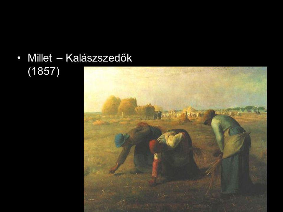 Millet – Kalászszedők (1857)
