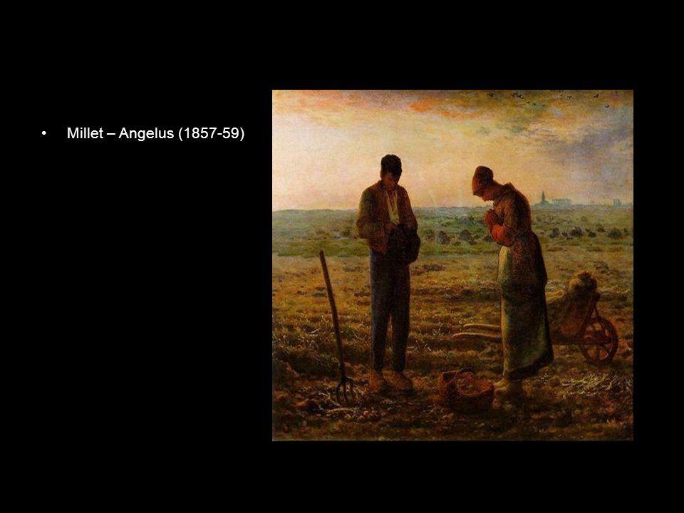 Millet – Angelus (1857-59)