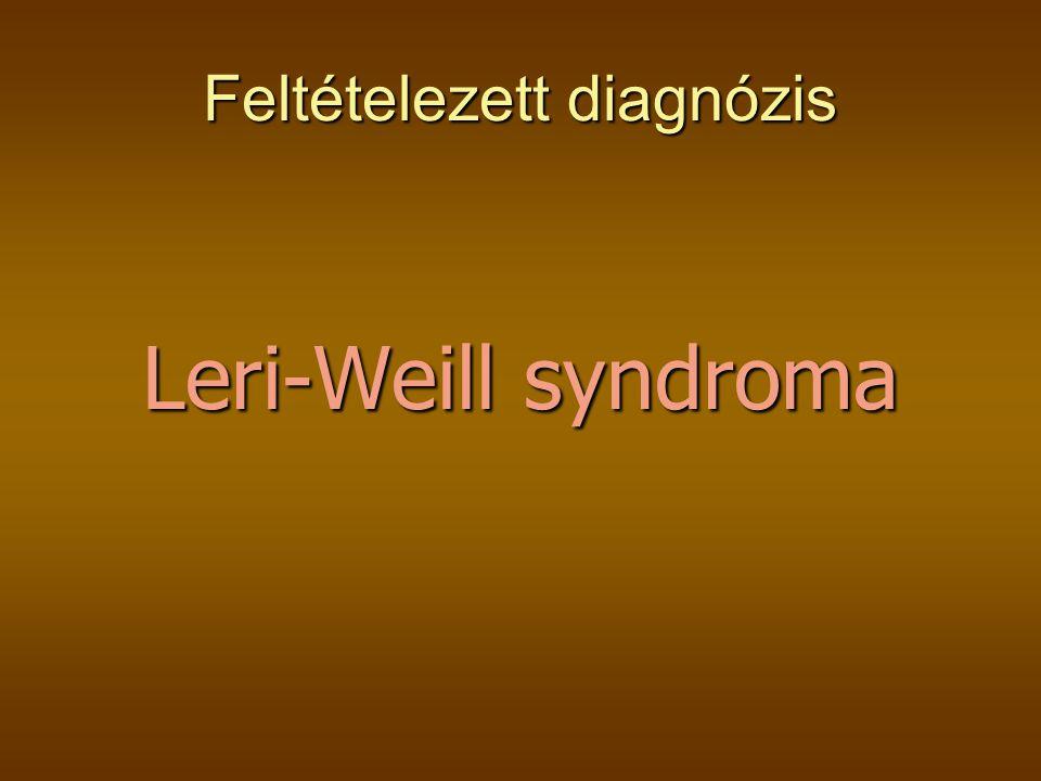 Feltételezett diagnózis