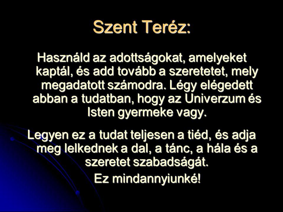 Szent Teréz: