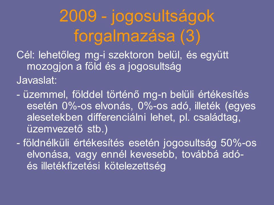 2009 - jogosultságok forgalmazása (3)