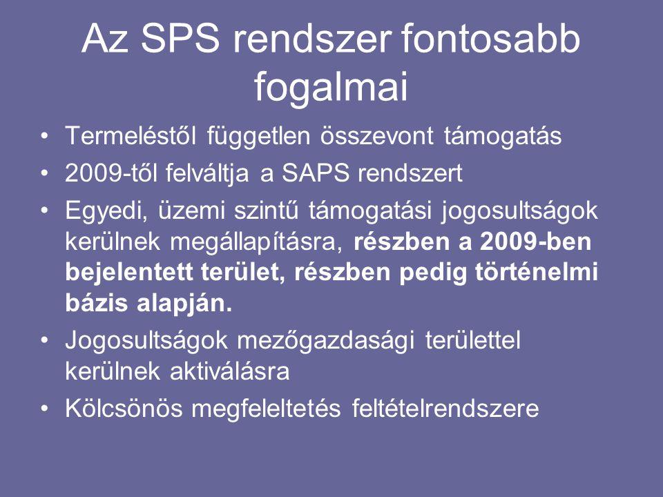 Az SPS rendszer fontosabb fogalmai