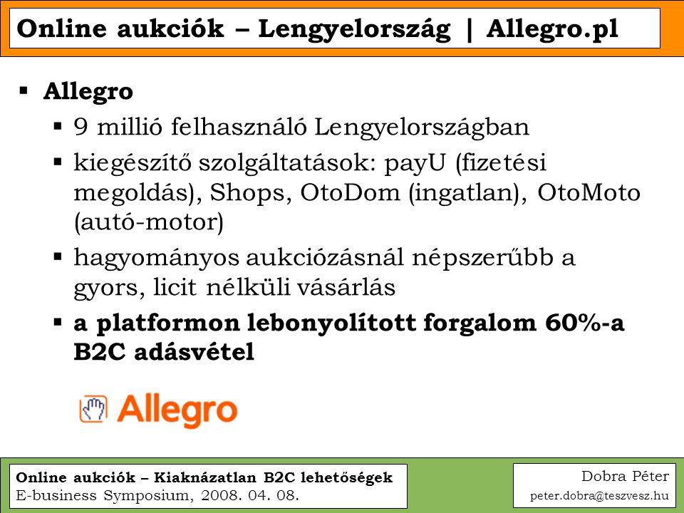 Online aukciók – Lengyelország | Allegro.pl