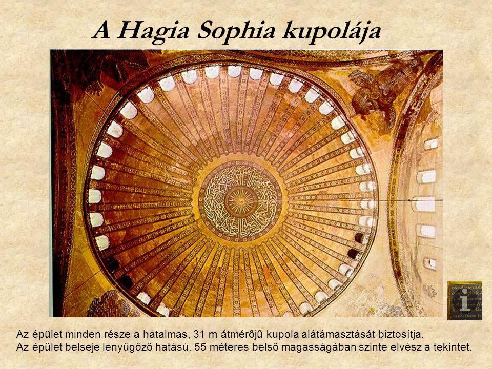 A Hagia Sophia kupolája