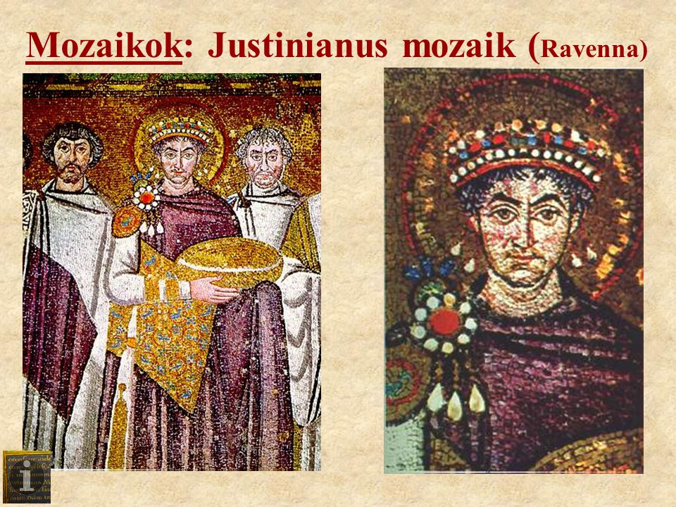 Mozaikok: Justinianus mozaik (Ravenna)