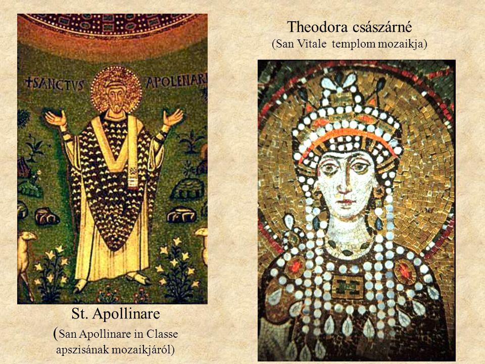Theodora császárné (San Vitale templom mozaikja)