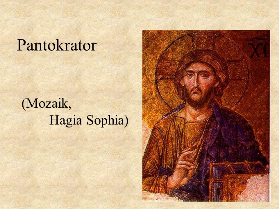 Pantokrator (Mozaik, Hagia Sophia)