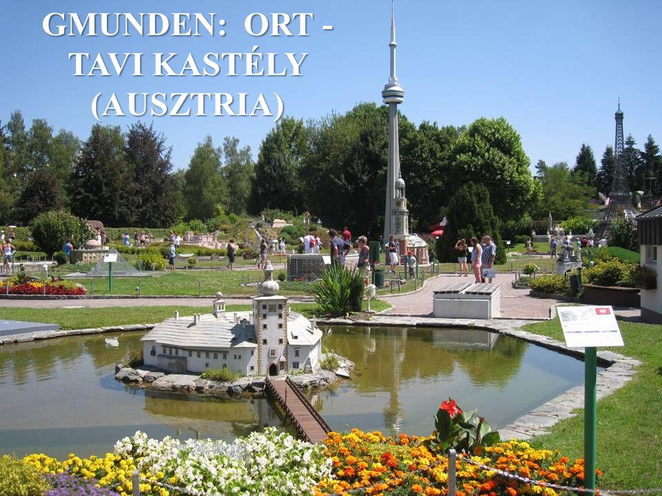 GMUNDEN: ORT -TAVI KASTÉLY (AUSZTRIA)