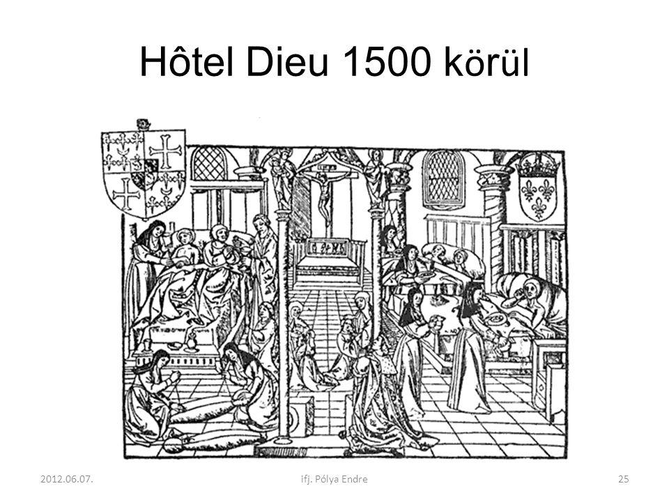 Hôtel Dieu 1500 körül 2012.06.07. ifj. Pólya Endre