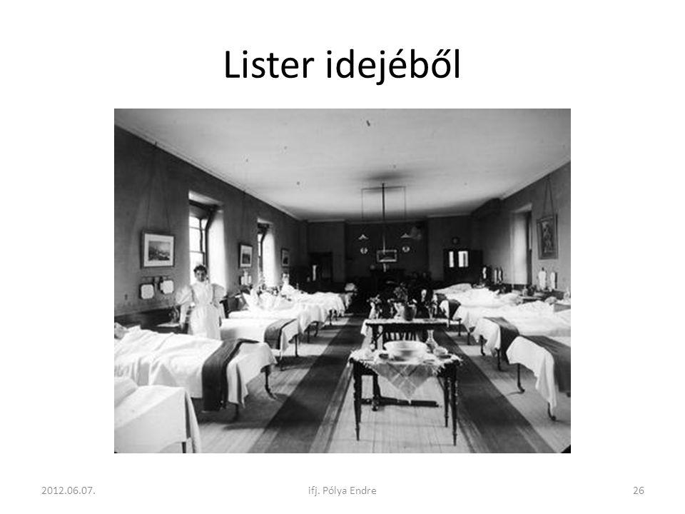 Lister idejéből 2012.06.07. ifj. Pólya Endre