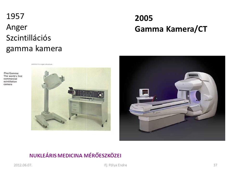 Szcintillációs gamma kamera 2005 Gamma Kamera/CT