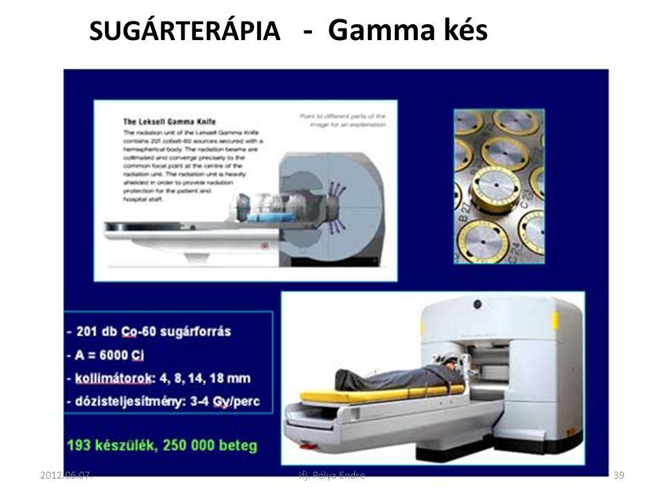 SUGÁRTERÁPIA - Gamma kés