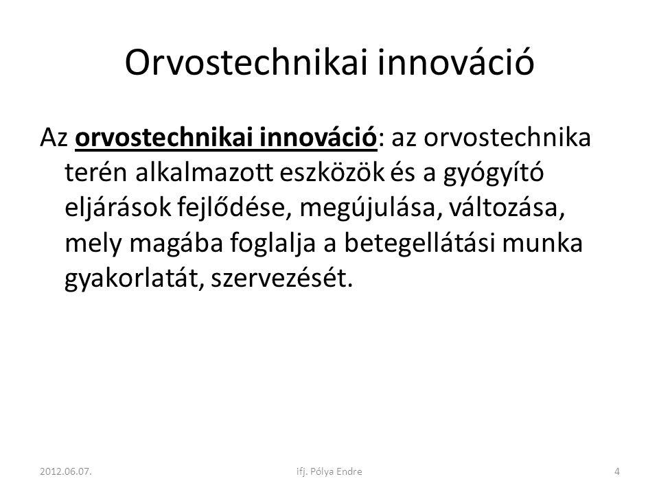 Orvostechnikai innováció