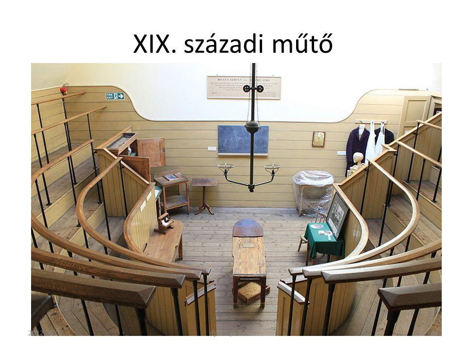 XIX. századi műtő 2012.06.07. ifj. Pólya Endre