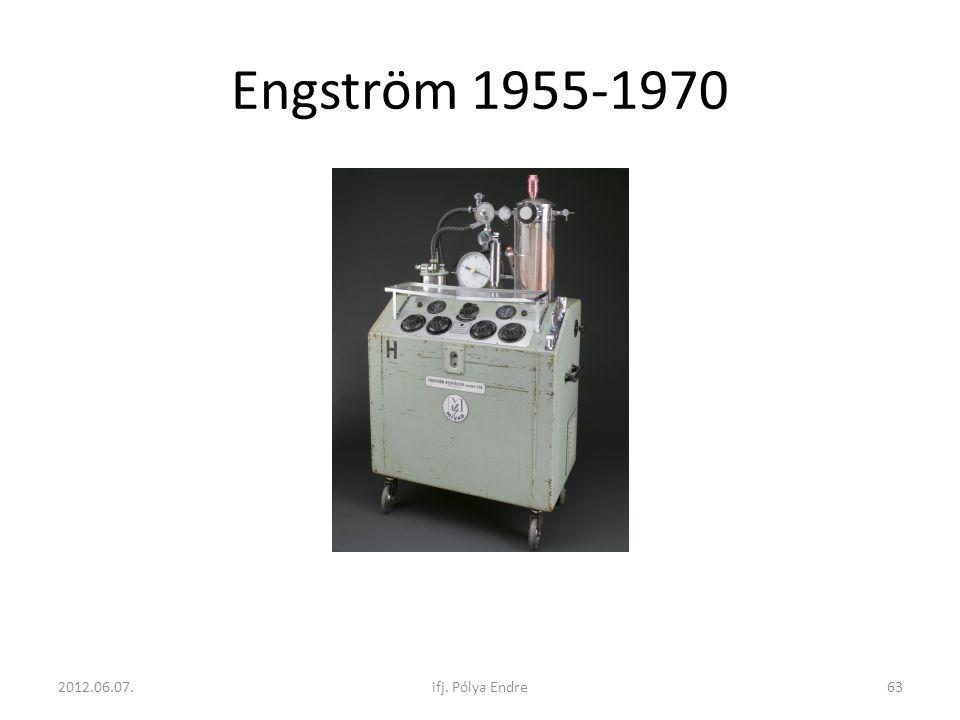 Engström 1955-1970 2012.06.07. ifj. Pólya Endre