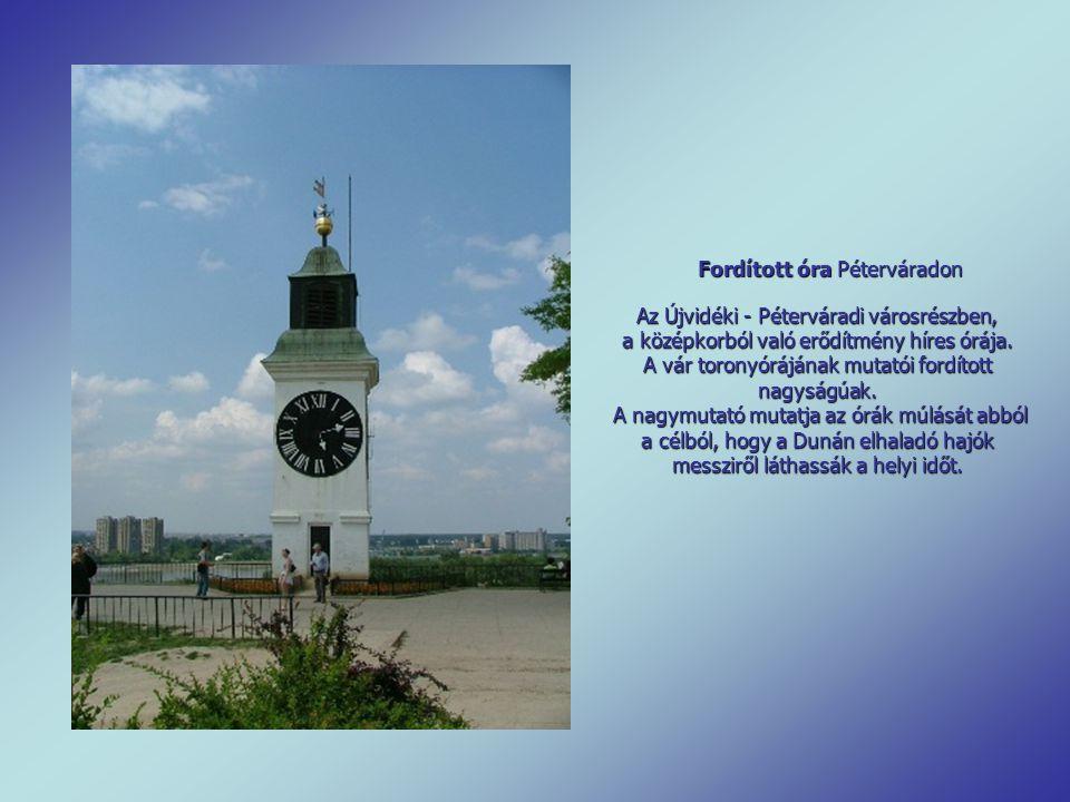 Fordított óra Péterváradon