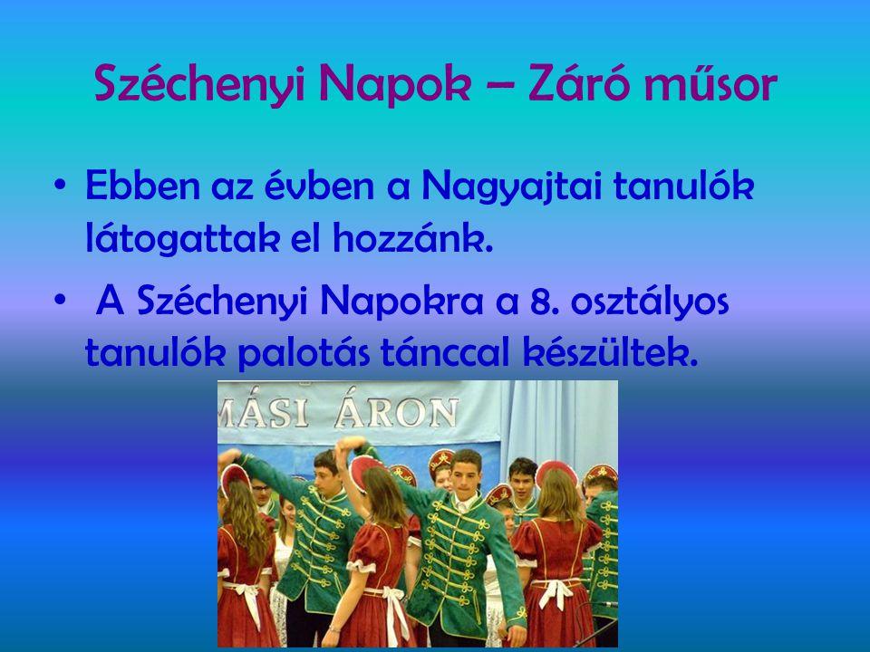 Széchenyi Napok – Záró műsor