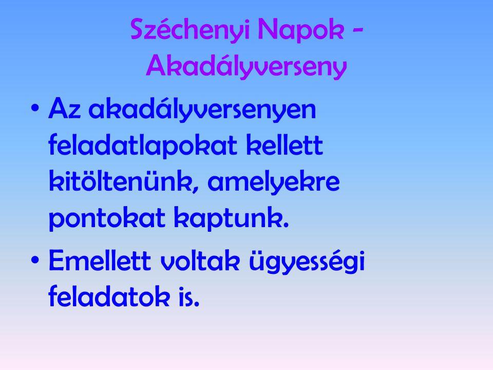 Széchenyi Napok - Akadályverseny