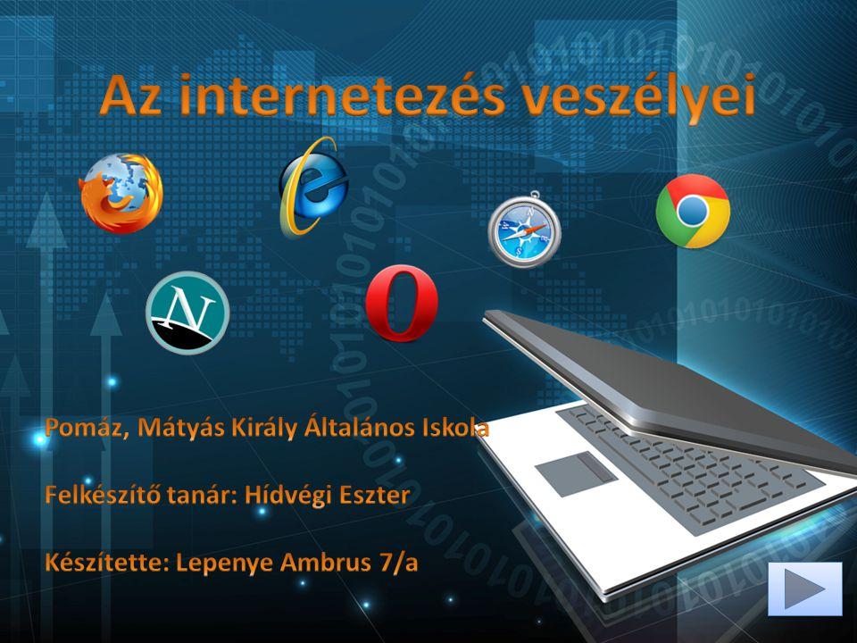 Az internetezés veszélyei