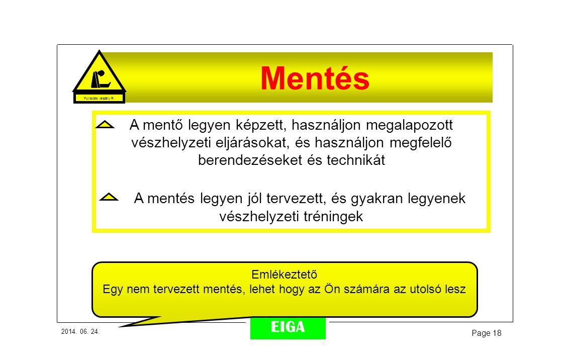 Fulladás veszély R Mentés.