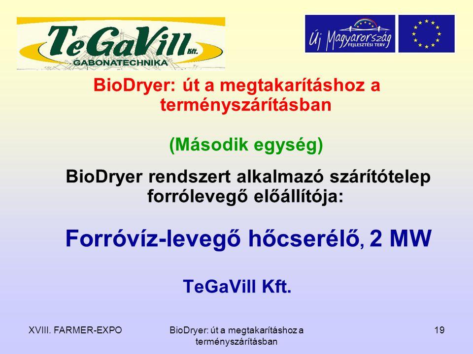 BioDryer: út a megtakarításhoz a terményszárításban (Második egység)
