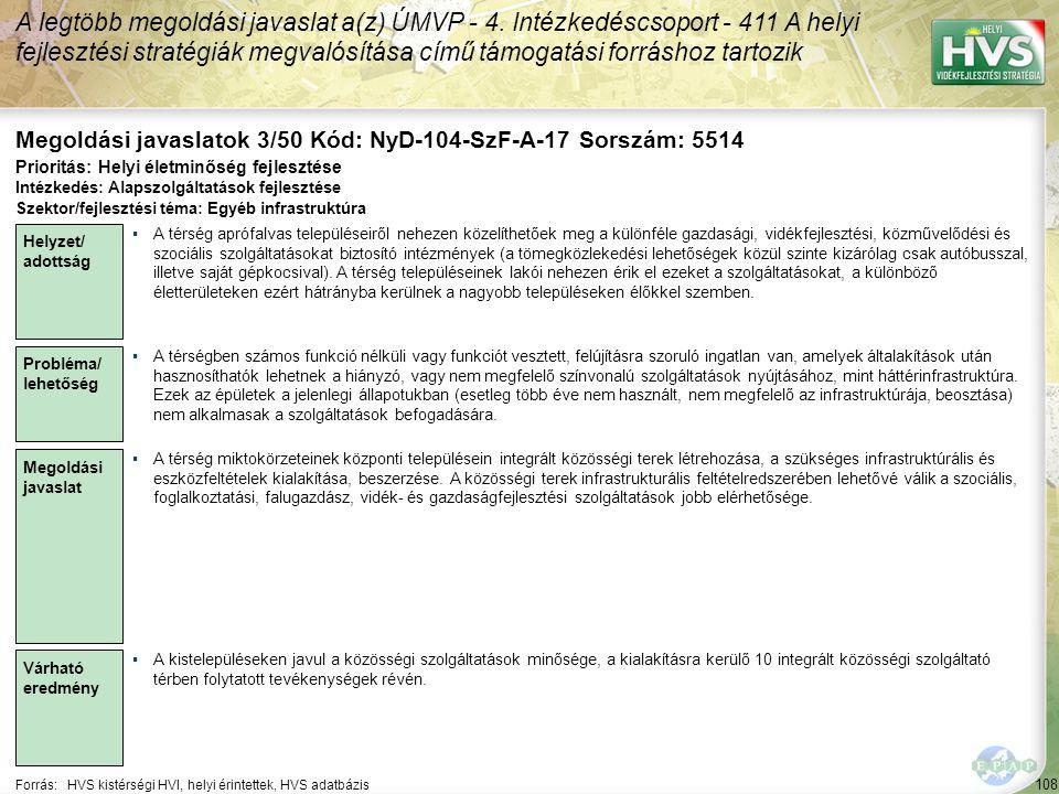 Megoldási javaslatok 3/50 Kód: NyD-104-SzF-A-17 Sorszám: 5514