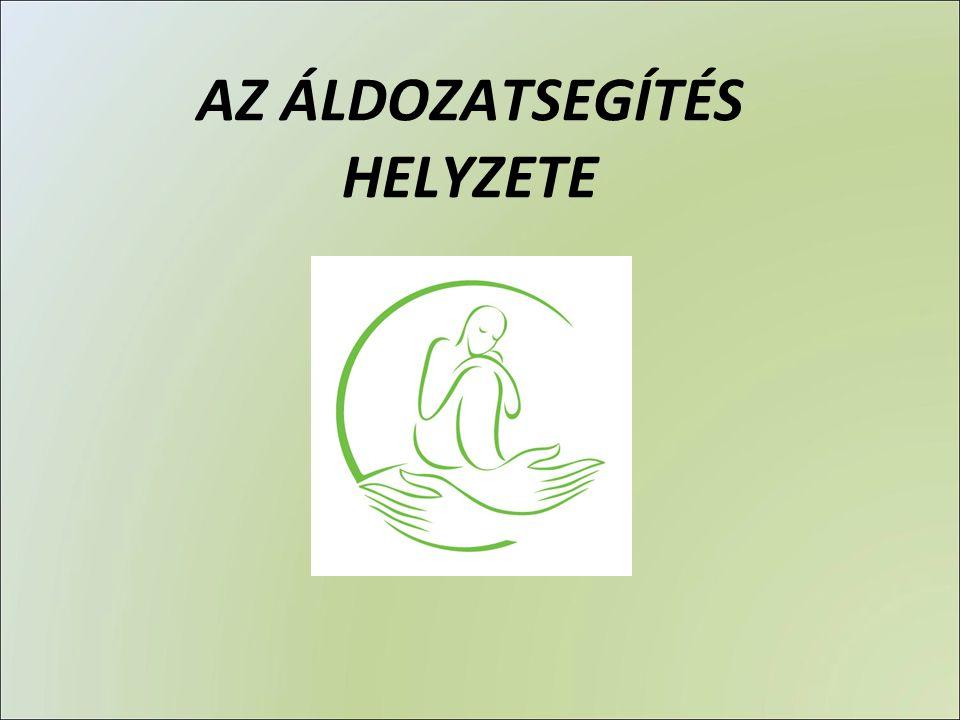 AZ ÁLDOZATSEGÍTÉS HELYZETE