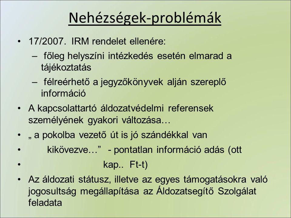Nehézségek-problémák