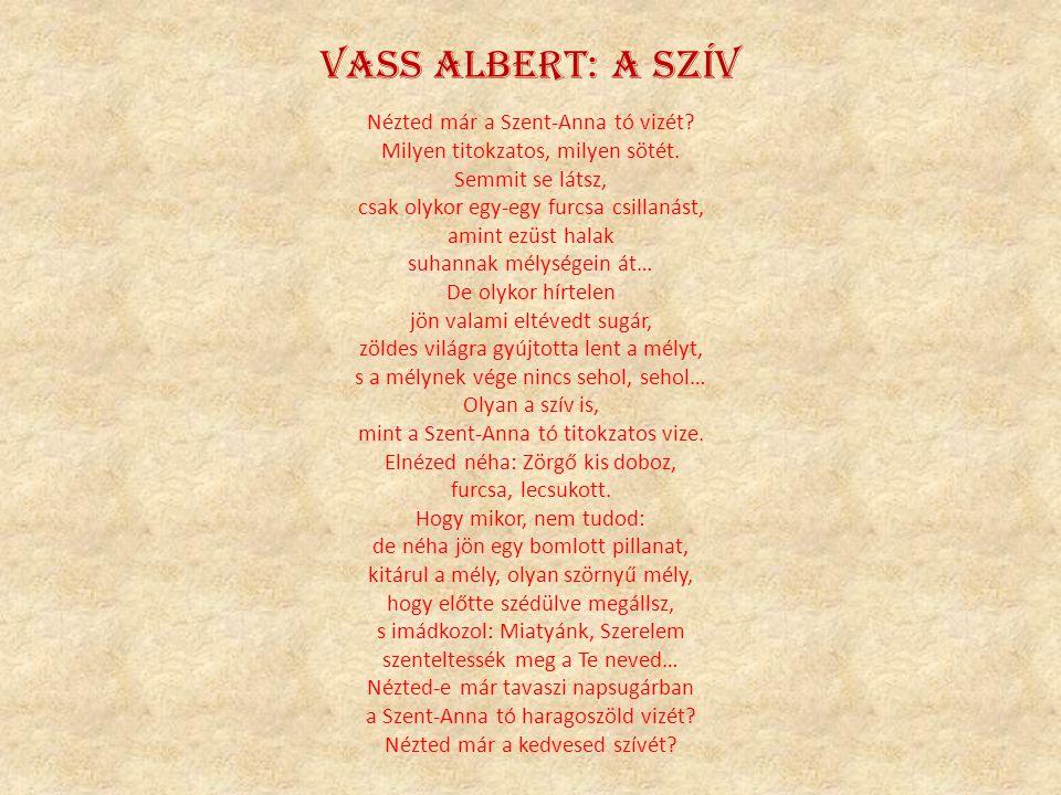 Vass Albert: A szív