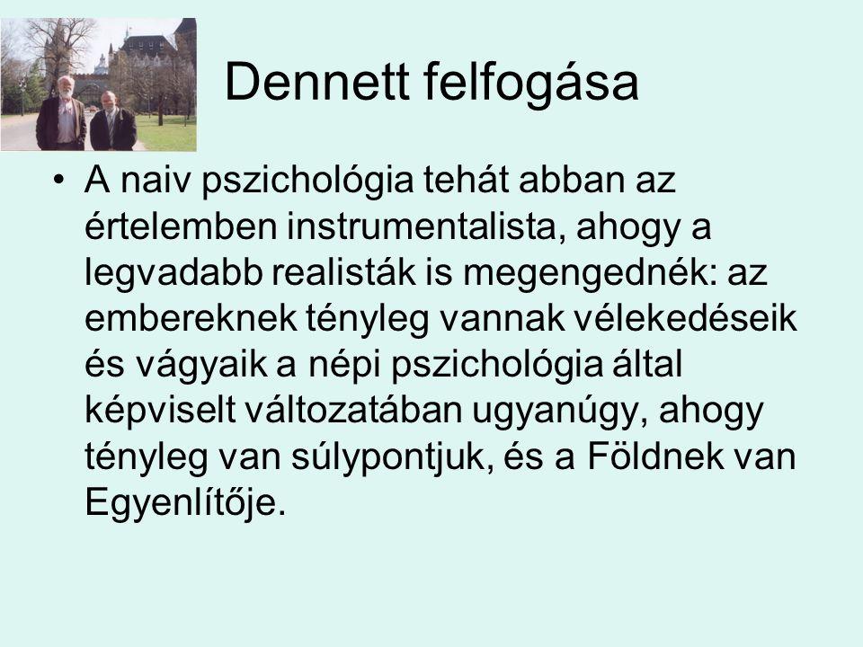 Dennett felfogása