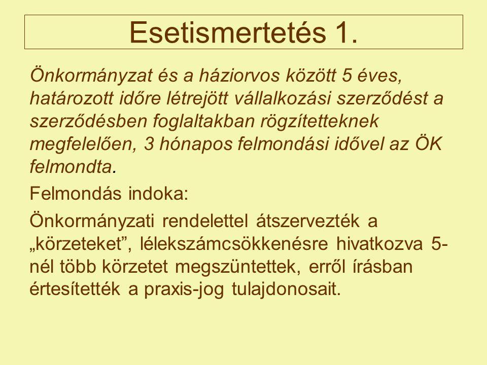 Esetismertetés 1.