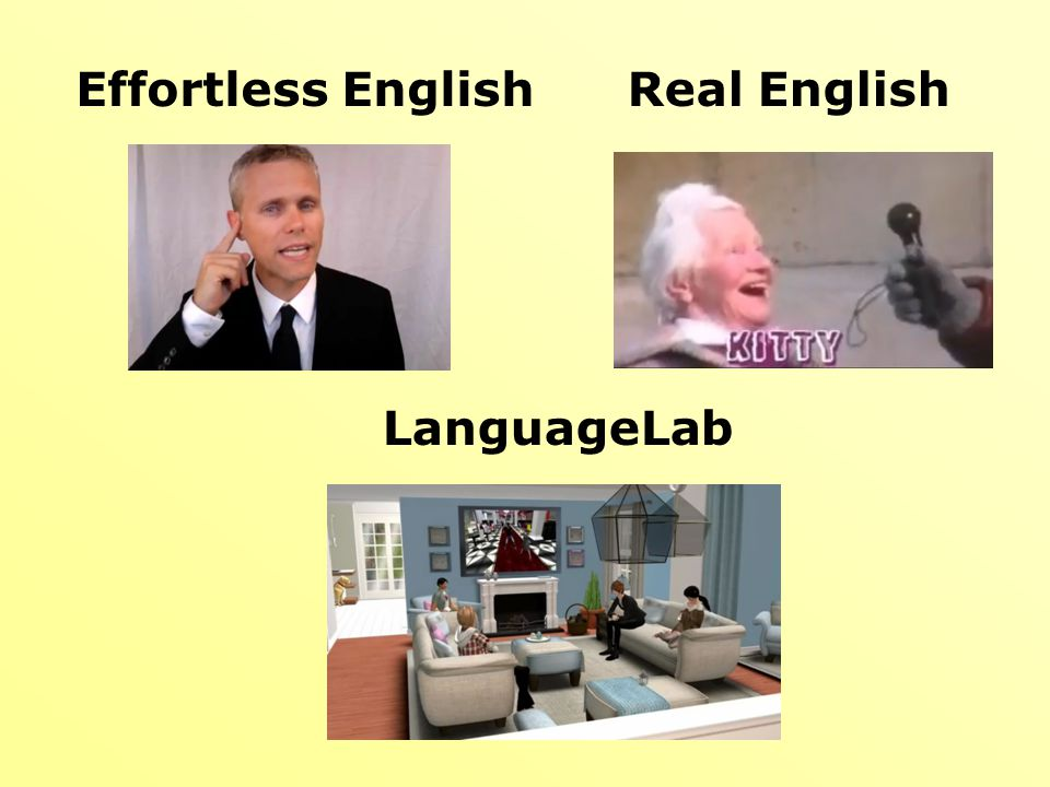 Effortless English Real English LanguageLab