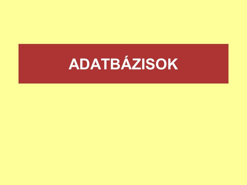 ADATBÁZISOK