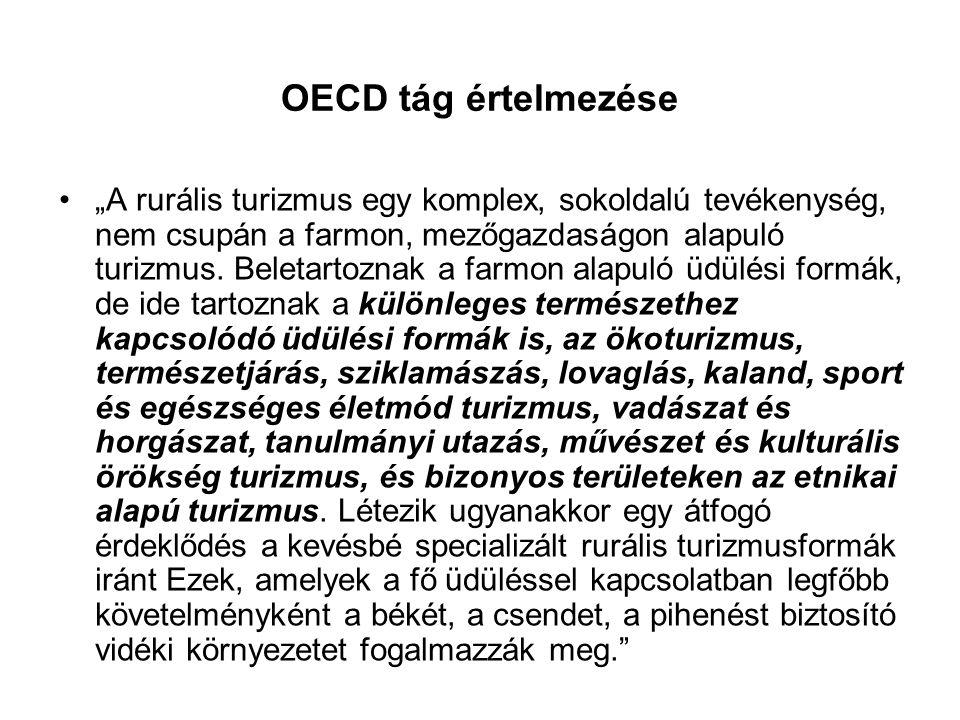 OECD tág értelmezése