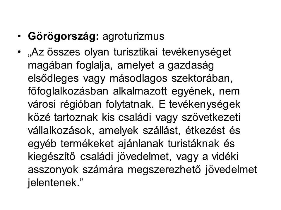 Görögország: agroturizmus