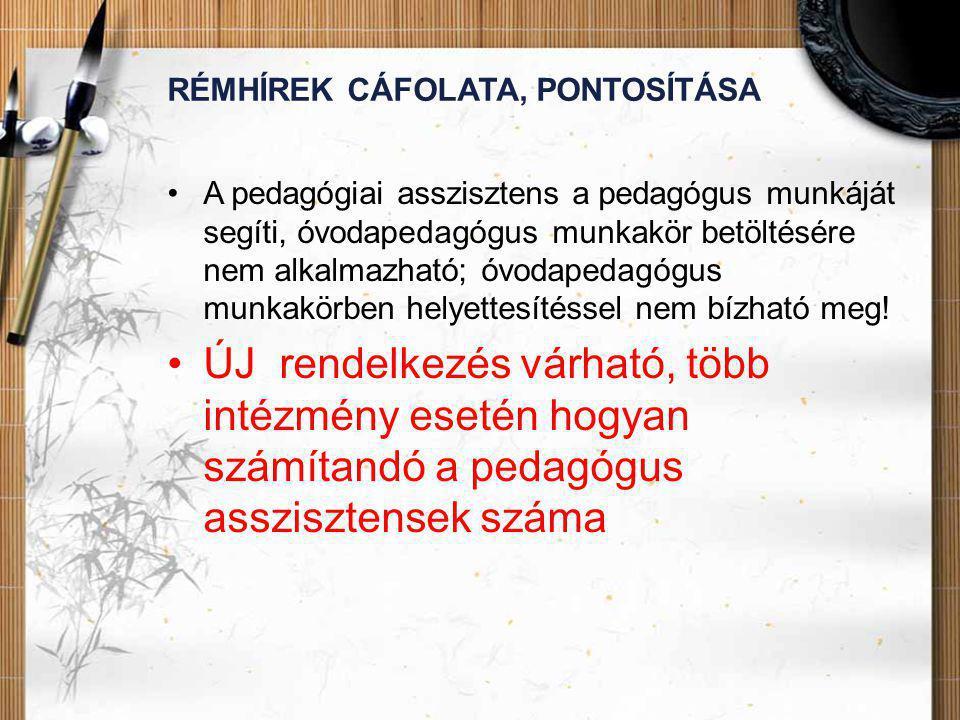 RÉMHÍREK CÁFOLATA, PONTOSÍTÁSA