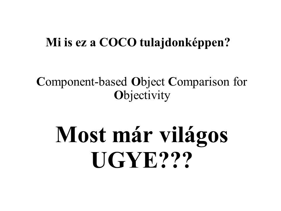 Mi is ez a COCO tulajdonképpen