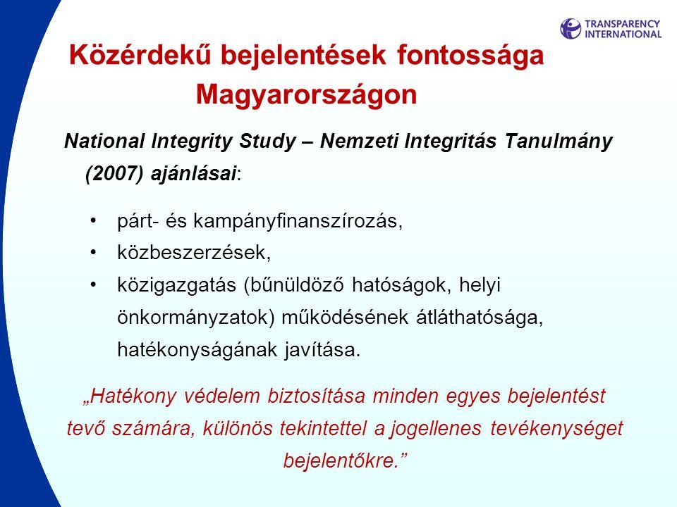 Közérdekű bejelentések fontossága Magyarországon