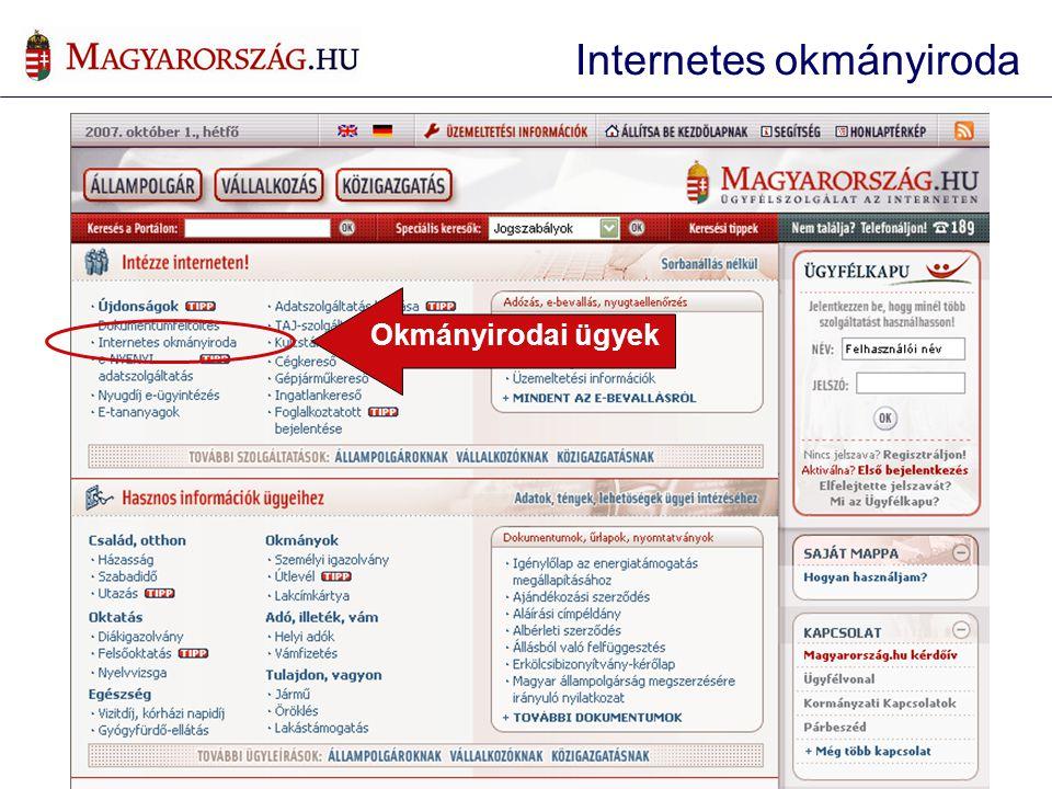 Internetes okmányiroda