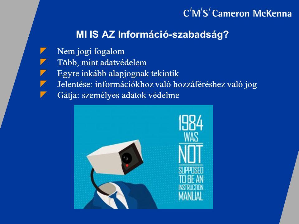 MI IS AZ Információ-szabadság