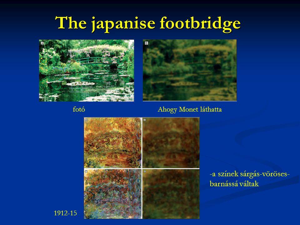 The japanise footbridge
