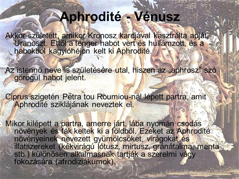 Aphrodité - Vénusz