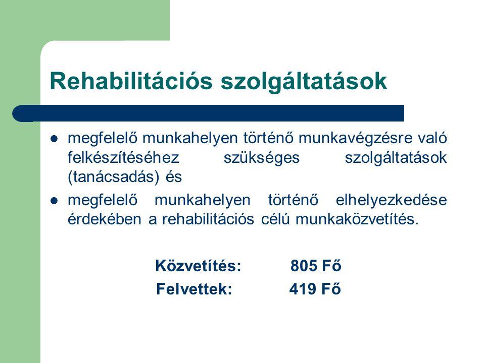 Rehabilitációs szolgáltatások