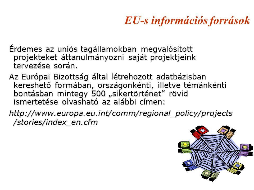 EU-s információs források