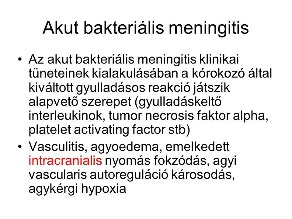Akut bakteriális meningitis