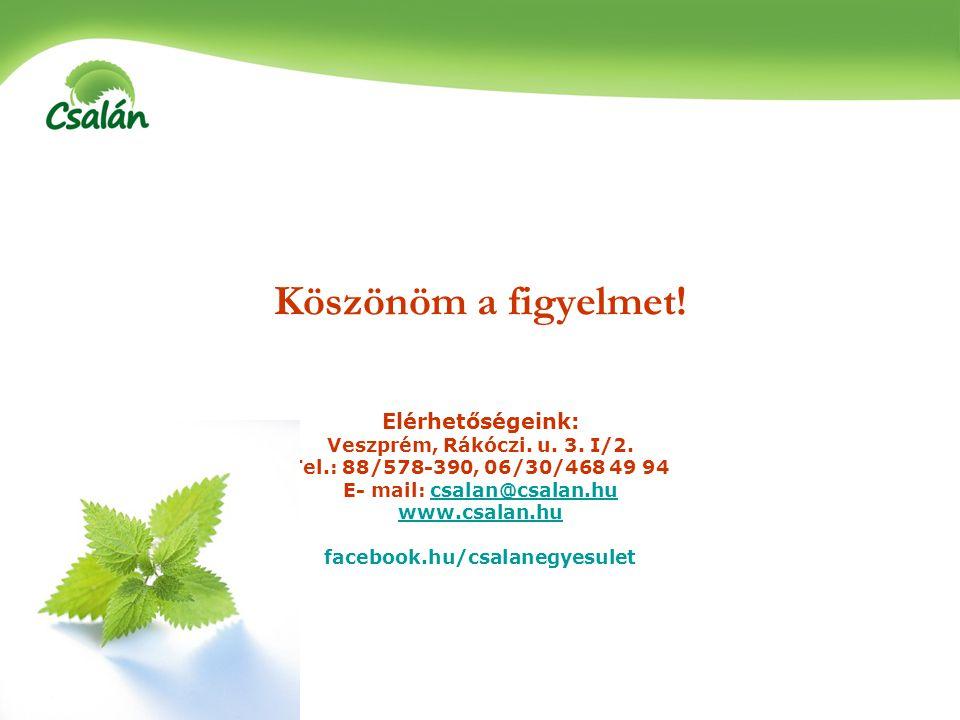 E- mail: csalan@csalan.hu facebook.hu/csalanegyesulet