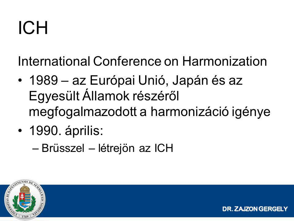 ICH International Conference on Harmonization