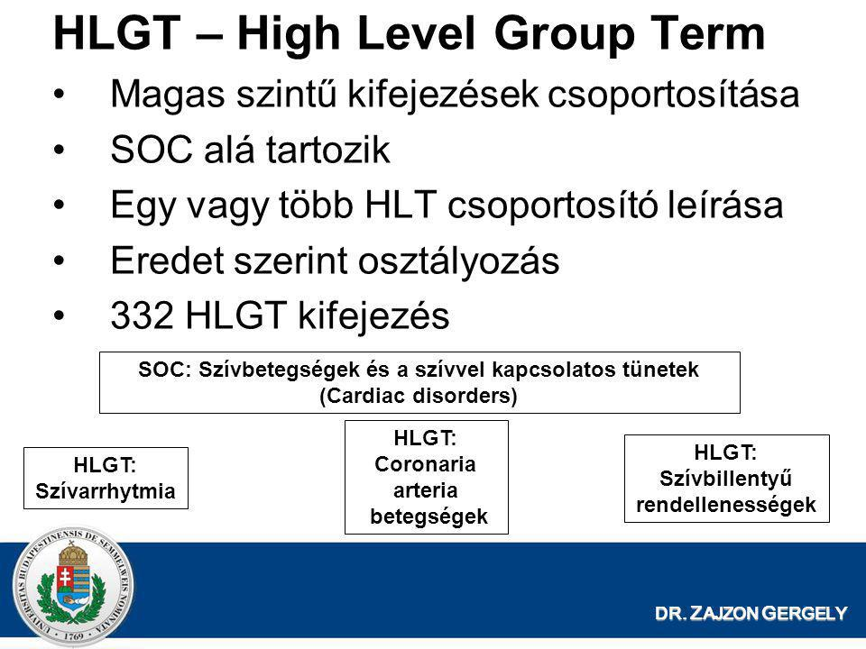 HLGT – High Level Group Term