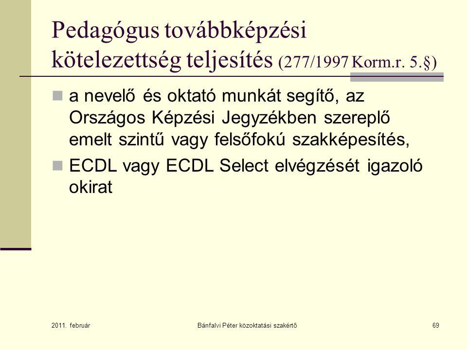 Bánfalvi Péter közoktatási szakértő