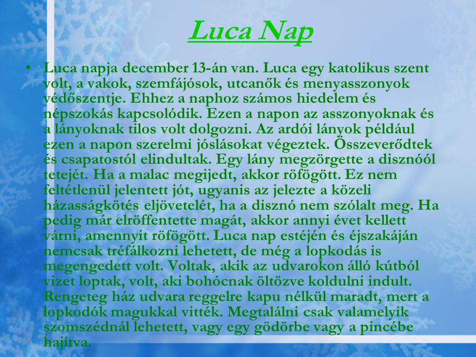 Luca Nap